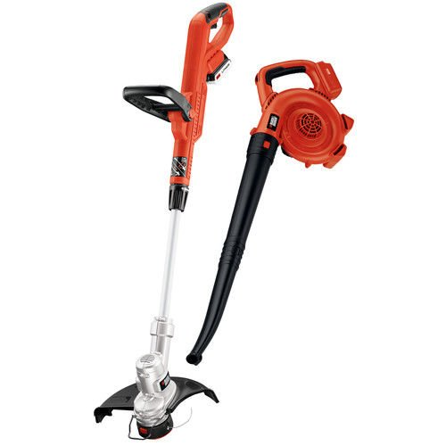BLACK+DECKER LCC300 20V MAX Lithium Ion String Trimmer and Sweeper Combo Kit by BLACK+DECKER