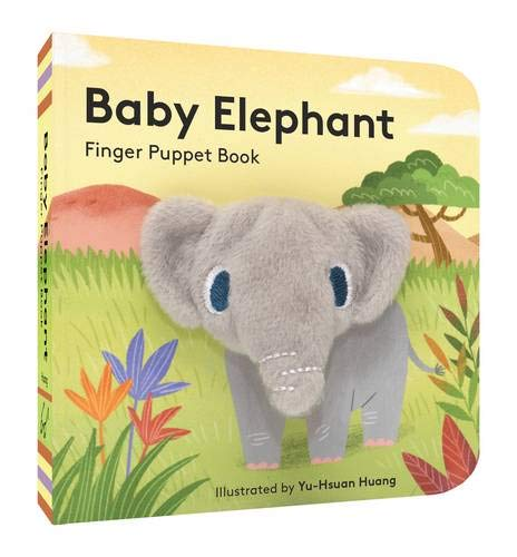 Baby Elephant: Finger Puppet Book -