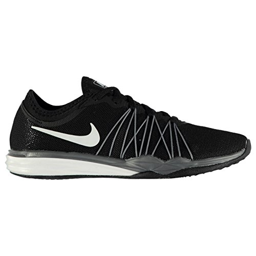 Hit Nike negro Run TR zapatillas mujer Zapatillas blanco de blanco Fusion zapatillas 5 EU41 Dual UK7 US9 negro para running qq4rwt1B