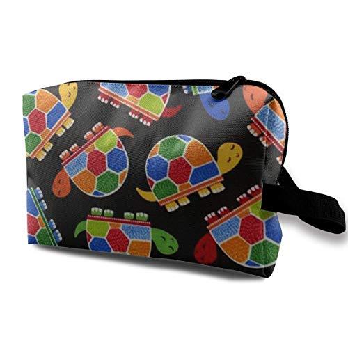 donna viaggio Borsa viaggio da borse Borsa da in in per colorata tessuto tartaruga da impermeabile 00wr5q6