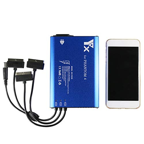 Wikiwand 4 in 1 Parallel Hub Intelligent Battery Charger for Phantom 4 RC Drone by Wikiwand (Image #6)