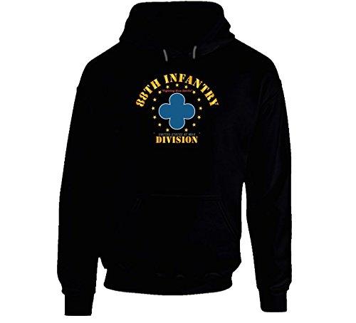 2XLARGE - 88th Infantry Division - Fighting Blue Devils Hoodie - Black