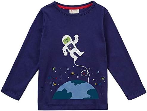 Piccalilly - Camiseta de manga larga para niños, algodón orgánico ...