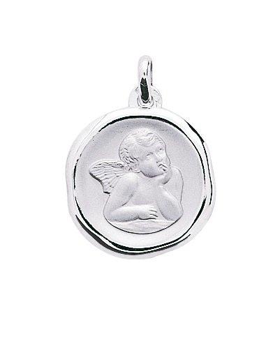 ANGE RAPHAEL - Médaille Religieuse - Or 18 carat - Hauteur: 18 mm - www.diamants-perles.com