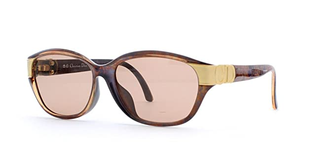 70b08751d74 Image Unavailable. Image not available for. Color  Christian Dior 2906 80  Brown Authentic Women Vintage Sunglasses