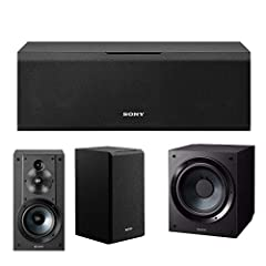 """Equipped with two 4"""" woofers and a 1"""" tweeter, the Sony SS-CS8 2-Way 3-Driver Center Channel Speaker handles 145W of peak power. The speaker's woofers use a mica-reinforced diaphragm, the upper surface of which is fashioned to deliver ..."""