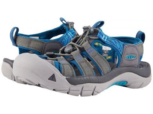 Keen(キーン) レディース 女性用 シューズ 靴 サンダル Newport Hydro - Steel Grey/Blue Turquoise [並行輸入品]