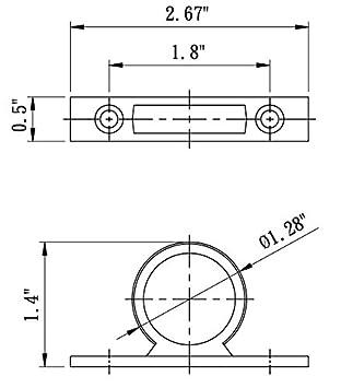 DF-SA155-WT RV Shower Hose Ring White