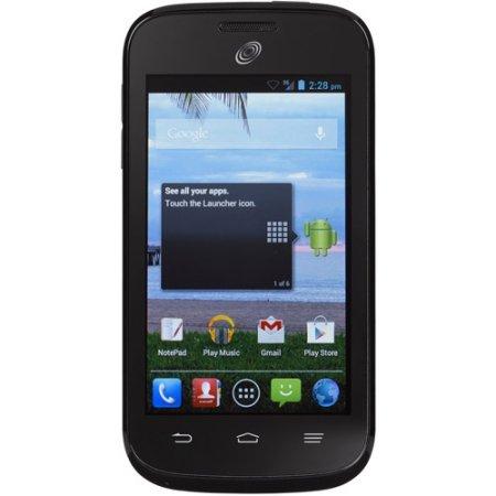 Straight Talk ZTE Savvy Z750C Prepaid Smartphone (Zte Savvy Straight Talk Batteries)