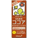キッコーマン 豆乳飲料 ココア 200ml×18本×2箱(36本)