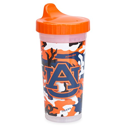 Insulated Sippy Cup | Official NCAA Auburn University Licensed Product, Made in The USA – Camo Design, 10oz