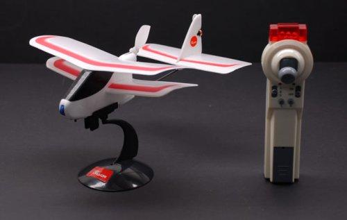 (2008 R/C Mini Push Bi-Plane Park FlyerReady to Fly w/ Lipo Battery)