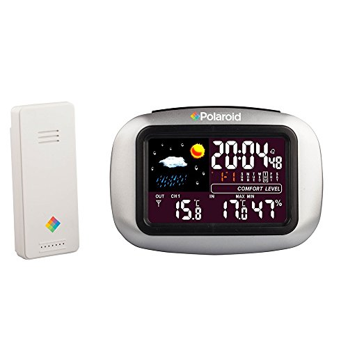 Polaroid PDC002 Wireless Weather Station Clock