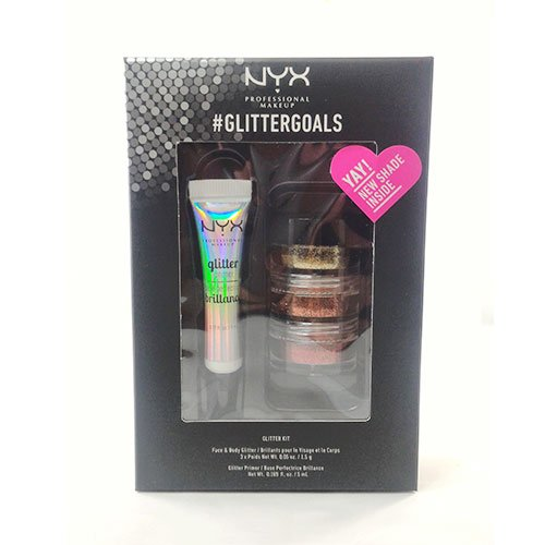 NYX PROFESSIONAL MAKEUP Glitter Goals Kit No. 2