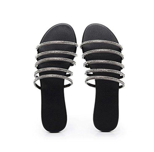 pies para Correa Pulsera con Sandalias Estudiante los Las Mujer Mujeres Sandalias Mujer Sandalias Sandalia de de de Gray Zapatillas Planas AqAwgF6fM