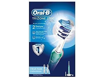 Oral-B TriZone 2700 Adulto Cepillo dental tri-zona - Cepillo de dientes eléctrico (Batería, Integrado, 55 mm, 156 mm, 253 mm, 285 g): Amazon.es: Hogar