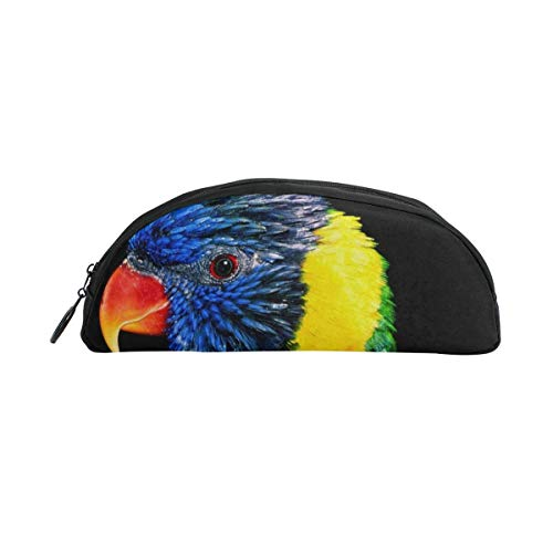 HengZhe Pencil Case Bird Artwork Pen Bag Cosmetic