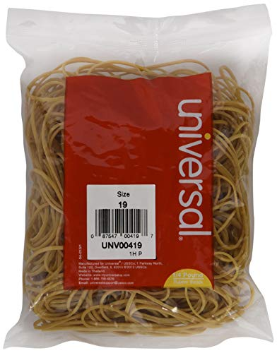 Universal 00419 19-Size Rubber Bands (335 per - Novella Trap Cover