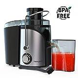 Juicer, Homgeek vegetable Juicer Machines, Dual