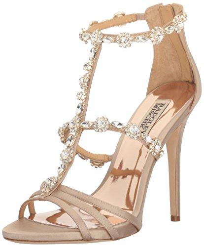 Badgley Mischka Women's Thelma Dress Sandal - Nude - 7 B(...