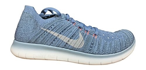 Corsa Donna Grey Nike da Flyknit Blue Scarpe Work Wmns Free RN 0Y66vqfHT