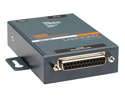 Lantronix UD1100002-01 Device Server - 1 x DB-25, 1 x RJ-45 (125157A) by Lantronix