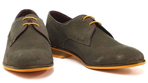 Scarpe Stringate Londra Scarpe Da Uomo Croxley Lace Up Derby Shoes Grigie