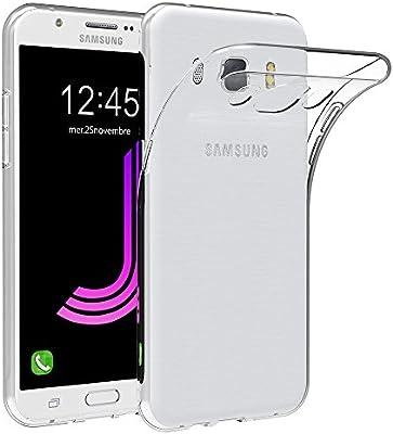 MaiJin Funda para Samsung Galaxy J7 (2016) SM-J710F (5,5 Pulgadas ...