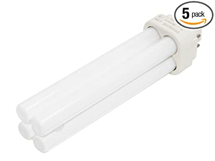 Philips 18w 4 Pin G24q2 Neutral White Double Twin Tube Cfl Bulb