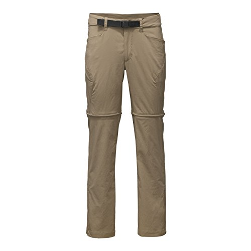 The North Face Men's Straight Paramount 3.0 Convertible Pants - Dune Beige - 38