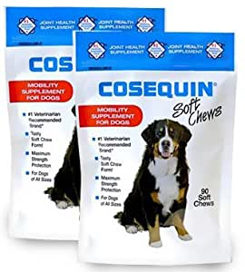 2 pack cosequin soft chews 180 chews pet supplies. Black Bedroom Furniture Sets. Home Design Ideas