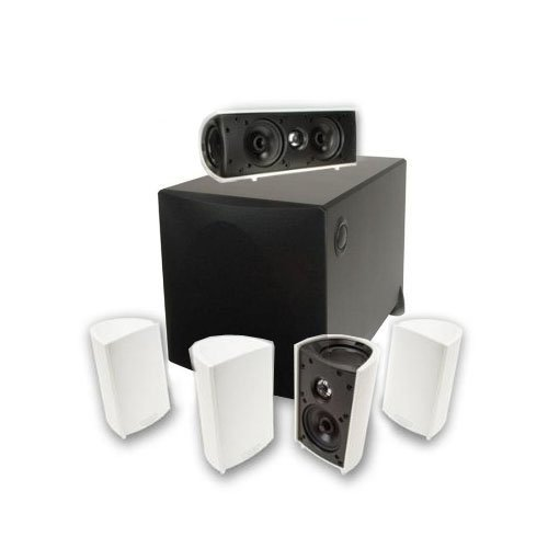 Definitive Technology Pro Cinema 1000 System - White Finish (black sub) by Definitive Technology