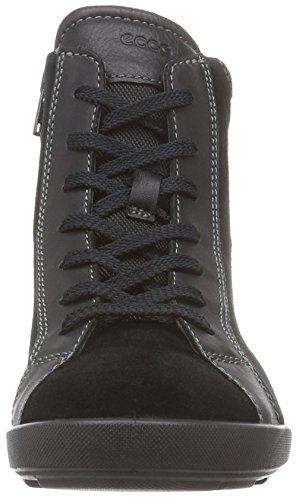 ECCO CRISP II Damen Combat Boots Schwarz (BLACK/BLACK 51052)