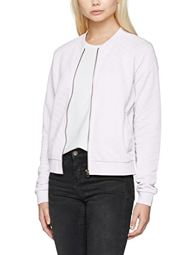 Bianco Donna Onljoyce Ls Only Bomber White Giacca Noos white UYnqPf