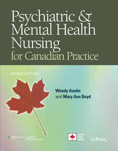 Psychiatric Mental Health Nursing For Ca Point Lippincott Williams