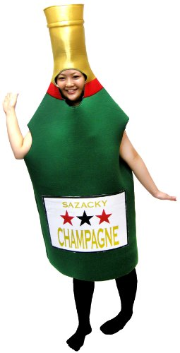 Champagne costume free size 2739 (japan import) ()