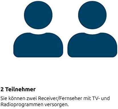 Technisat Multytenne Duo Satellitenschüssel Grau Elektronik