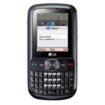 Band Quad Cellular - LG Wink C100 Quad-band Cell Phone - Unlocked - Black - International Version No Warranty