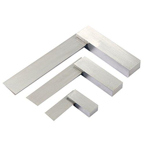 YaeTek Machinist Squares 90 Degree Right Angle Engineer's Set- 2'' 4'' 6'' DIN STANDARD 875, Machinist Square Set, 3-PIECE by YaeTek (Image #2)
