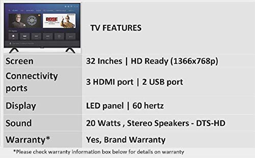 Mi 4A PRO 80 cm (32 inches) HD Ready Android LED TV (Black) Discounts Junction