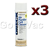 (Pack of 3) Oreck Air Purifier 19oz Assail-A-Cell Cleaner Cans. Part Number: 32358