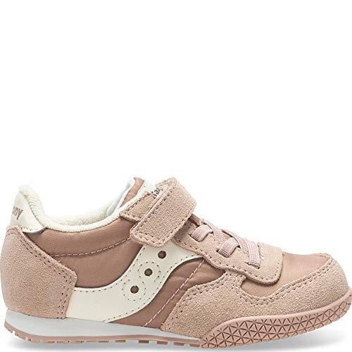 (Saucony Bullet Jr. Sneaker Big Kid 12 Pink/Cream)