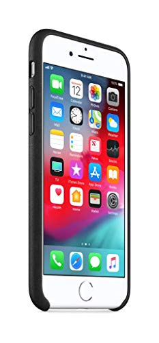 Apple iPhone 8 / 7 Leather Case - Black