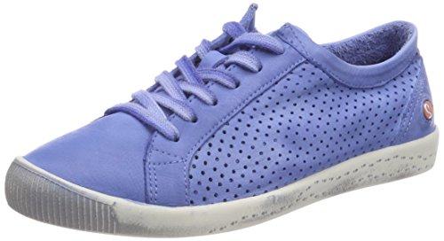 da Blau Softinos Washed Sneakers blu lavanda donna Ica388sof qgR84