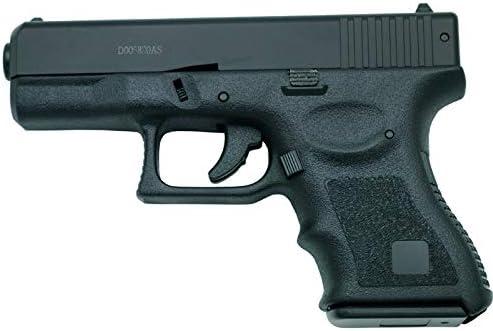 HFC Pistola Tipo Glock 19 - Negra - Pistola Muelle Pesada Calibre 6 mm - Energía 0.25 Julios - Velocidad de Disparo 65m/s - 214 FPS. Ref: 119N
