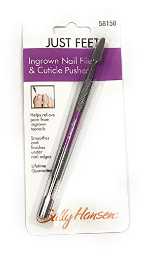 - Just Feet Ingrown Nail File and Cuticle Pusher