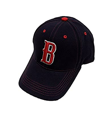 MLB Boston Red Sox Blue Cap, Red, One Size