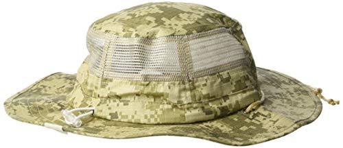 Cowbucker Boonie Sun Hat Wide Brim Sun Protection with Bucket Hat, One Size, Digi - Digi Ncaa Camo