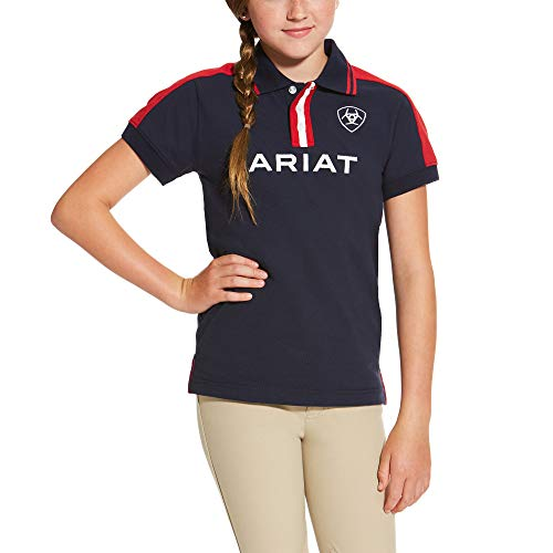 ARIAT Kid's New Team Polo Navy Size Large ()