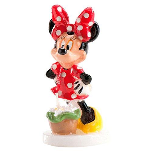 DEKORA Vela cumpleaños Minnie Disney: Amazon.es: Hogar